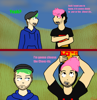 Septiplier in the Apocalypse (food supply) by Random-The-Artist