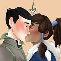 Borra Kisses by luddles