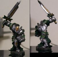 Shiny Knight Miniature by mandy-the-mental