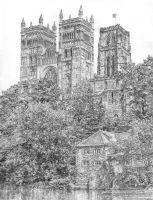 Durham Cathedral by plcappleman