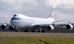 Cathay Pacific 747-8F Takeoff by shelbs2