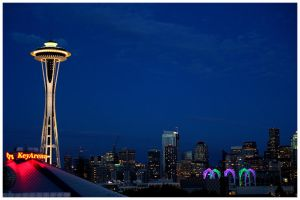 Seattle Skyline by HannaV