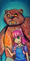League Of Legends - Annie and Tibbers by Keylhen