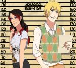 CM: Roxas and Robyn Height Chart by Chloeeh