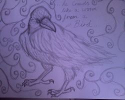 Bird and the Worm - Pencil by supersmeg123