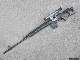 Dragunov SVD Sniper Rifle 1 by Garr1971