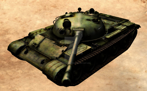 T-62A by Hellomon100