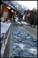 Zermatt River by jwstarbuck09