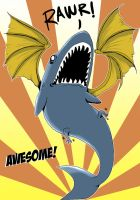 OMG BATSHARK IS AWESOME by Red-Revolver