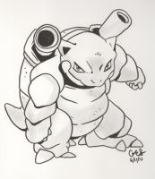 Blastoise by GES-who