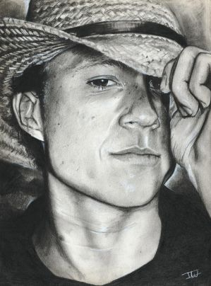 Heath Ledger by IsabelleWallgren