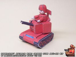 Papercraft Advance Wars Anti-Air final build by ninjatoespapercraft