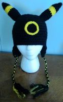 Crochet Umbreon Hat by LaviLovepaw