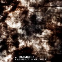 Diamond Abstract n Grunge 2 by 10Plus