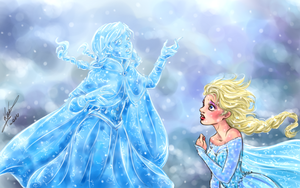 Frozen by sarumanka