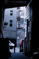 Dark Alley by FengshuiCat