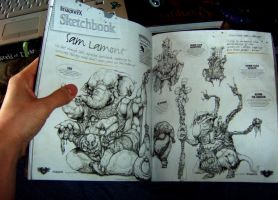 Imagine FX sketchbook spread by MoonSkinned