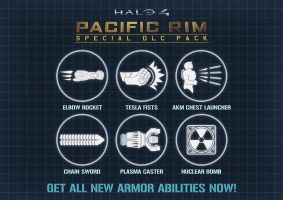 Halo4 - 'Pacific Rim' Special DLC Pack by GRANDBigBird