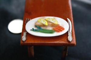 miniature fish dinner II by star--crossed