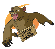 Commission: Fear The Bear by DigitallyDelirious