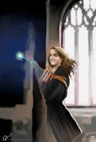 Hermione Knows A Shortcut by hifarry