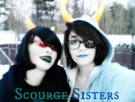 Scourge Sisters by PockyBoxxProductions