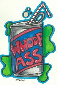 Can of Whoop by K8e-Art