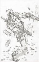 DEADPOOL , MERC WITH A MOUTH by 1314