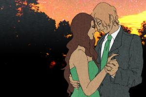 one autumn evening - finnick and annie by finnodair