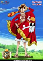 Monkey d Luffy 15 by donaco