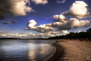 The Beach by Brigitte-Fredensborg