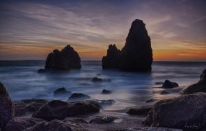 Rodeo Cove Sunset by tt83x