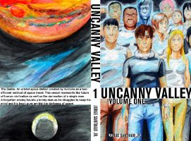 Uncanny Valley Cover Painted by JorgeSantiagoJr