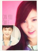 Myungsoo and Naeun - Can you smile by sayhellotothestars