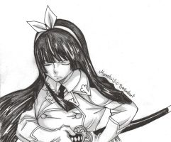 Fighting Kagura Mikazuchi by DevilishMirajane