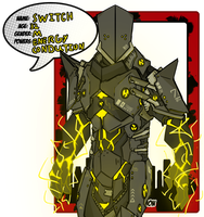 Lh  Villlain: Switch by The-Red-Right-Hand