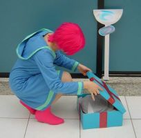 MOTHER 3 - Kumatora cosplay 2 by alandria7