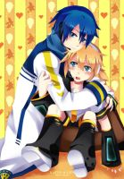 Kaito and Len: Let me go by Squ-chan