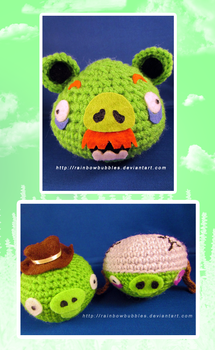 Amigurumi Minecraft Pig : #angrybirdspigs Explore angrybirdspigs on DeviantArt