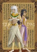 Comm: Inuyasha of the Egypt by Rvinguard