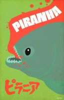 Piranha by Hartter