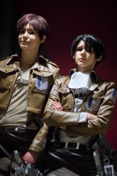 Eren and Levi by SnowChlLD
