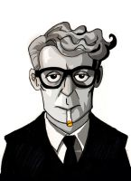 Michael Caine by memorypalace