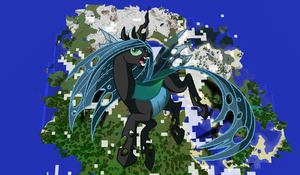 Queen Chrysalis Minecraft by TheUnknown644