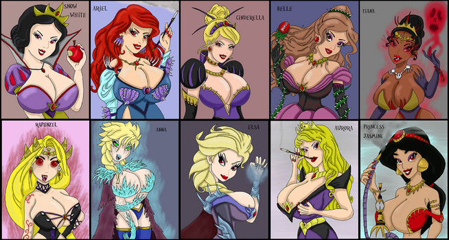 Princesses of Corruption 2 by WorldofSolgamia