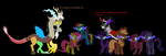 Corrupted Ponies by Nukarulesthehouse1
