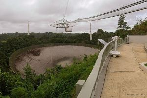 Arecibo Observatory by halley
