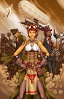 Uber Rpg Steampunk cover by JMayura