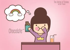 I Love Chocolate! by patione