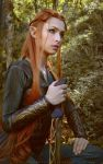 Tauriel Cosplay by AngelaBermudez